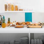 Buffet petit déjeuner hôtel Pays Basques