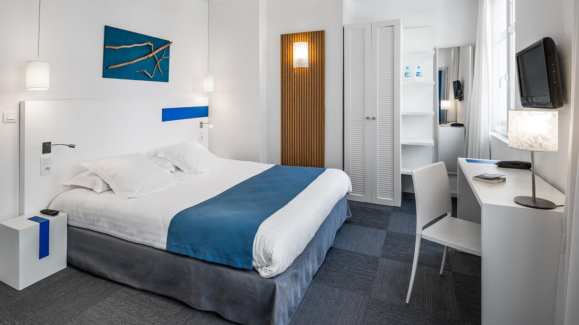 Chambre d'hôtel 3 étoiles à Biarritz