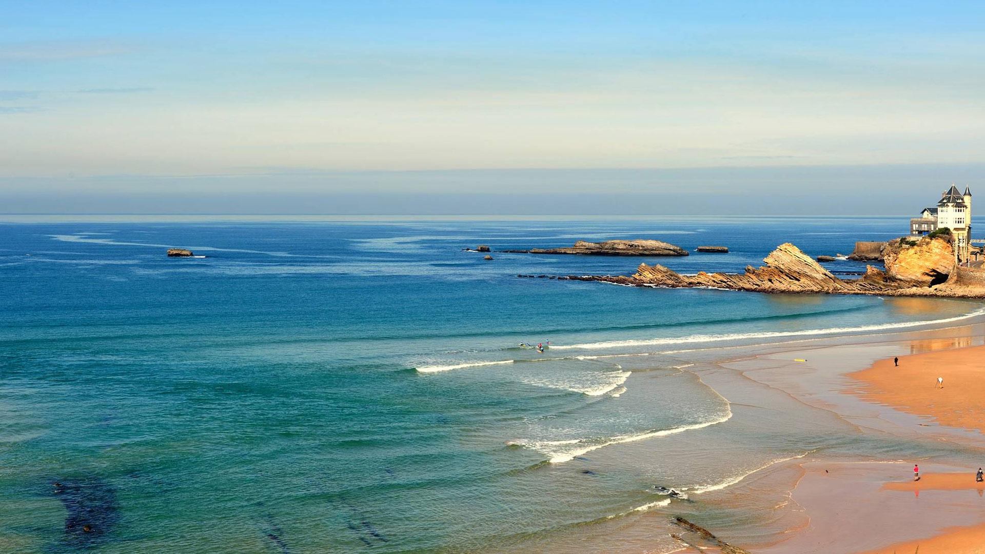 Praia de Biarritz: La Côte des Basques