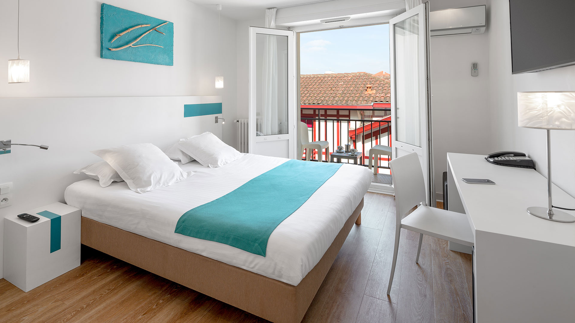 Chambre avec balcon à Biarritz