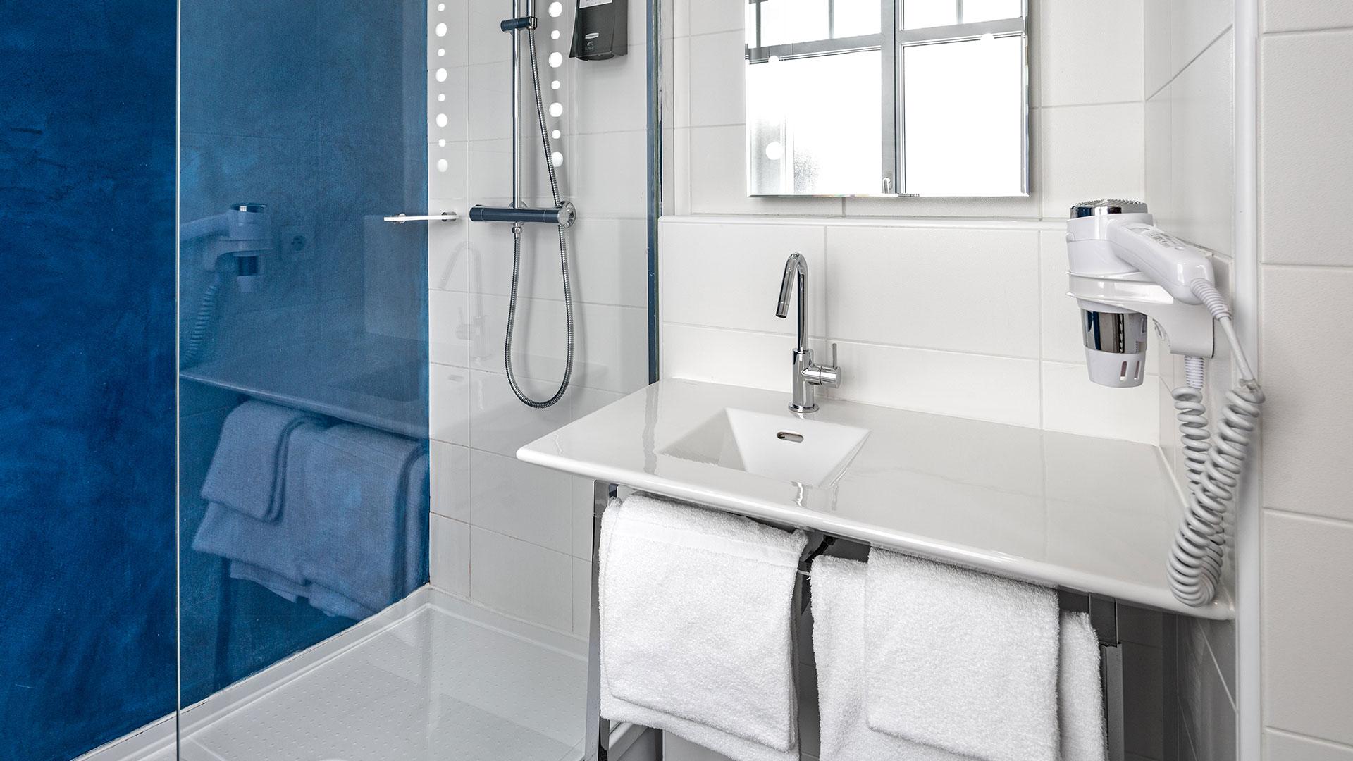 Salle de bain hôtel de charme Biarritz