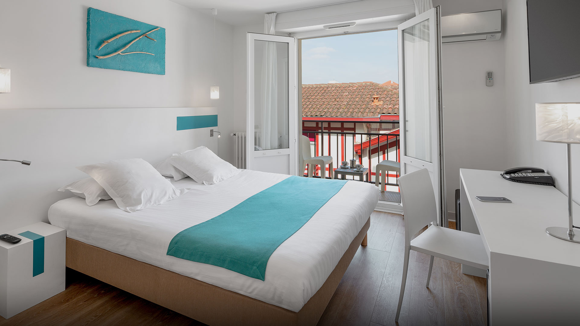 Chambre hôtel avec Balcon Biarritz