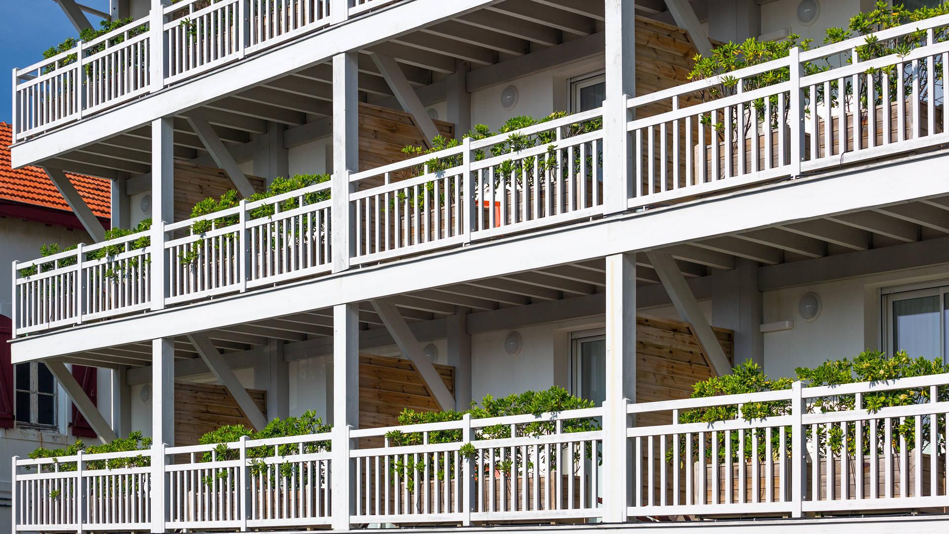 Chambre d'hôtel avec Balcon à Biarritz